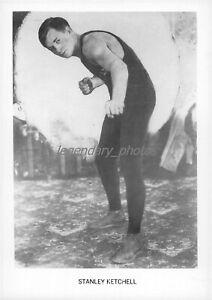 1900s Stan Ketchel Middleweight Boxer Original News Service Photo