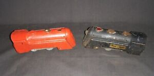 2 VINTAGE MARX  COMMODORE VANDERBILT ENGINES FOR RESTORE GOOD & FAIR