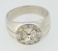 925 Men's Eagle Ring sterling silver