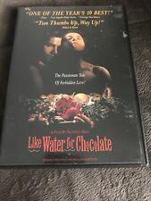 Like Water for Chocolate DVD Alfonso Arau(DIR) 1992