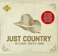 + Just Country 4 Cd Set - 60 Classic Country Songs (Released 2018)
