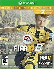 FIFA 17 Deluxe Edition - Xbox One  BRAND NEW FACTORY SEALED FREE SHIPPING!!