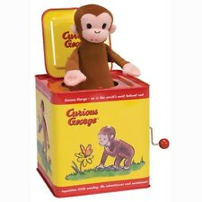 Curious George Jack In The Box Tin Metal Classic Toys Kids Toy Gifts Schylling