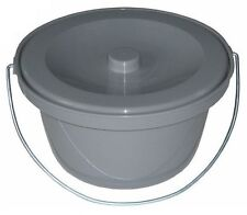 Toilettenstuhleimer Topf Wasserrille Geruchsverschluß Nachtstuhl Stuhleimer NEU