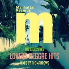 "MARROWS-MANHATTAN RECORDS ""THE EXCLUSIVES"" LOVERS REGGAE HITS-JAPAN CD E25"