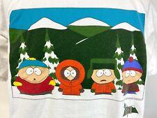 Vintage South Park Cast Comedy Central 1997 T Shirt Adult Xl
