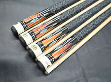 LOT OF 4 POOL CUES New 1/2 Maple Billiard Pool Cue Stick #15 FREE SHIPPING COST