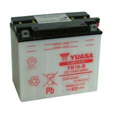 Batterie moto YUASA YB16-B 12V 20AH 215A