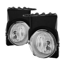 GMC Sierra 03-06 1500/2500/3500/1500HD/2500HD Clear Bumper Fog Lights Pair Set