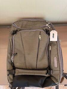 EBAGS TLS Mother Lode Weekender Convertible Jr. Backpack- Sage Green- new!!