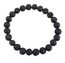 Volcanic Natural Lava Yoga Meditation Healing Wrist Mala Bracelet CL-1
