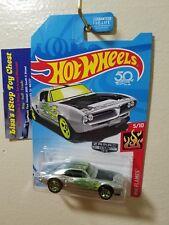 Hot Wheels 2018 Walmart Excl. ZAMAC Custom '67 Pontiac Firebird #012 B8