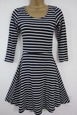 Cotton Skater Striped Dresses for Women