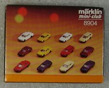 Marklin Mini Club Z Scale 8904 Car set (12 cars) - NEW