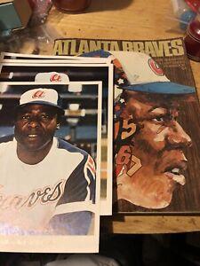 1974 Atlanta Braves Yearbook & Photos