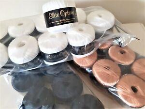 Wendy Elite Options Ribbon yarn 10 x 50g balls Gold White or Black