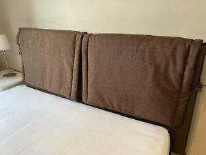 ART cuscini POGGIATESTA x schienale TESTIERA da letto matrimoniale rivestimento