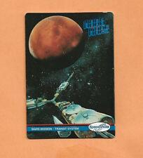 MARS MISSION TRANSIT SYSTEM   SPACESHOTS TRADING CARD # 35 1991