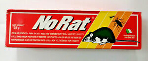 Norat Ratt Colle Souris Et Insectes Fourmis Blattes Sans Poison 135g Italie
