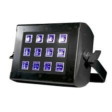 American DJ UV Flood 36 12 x 3W Ultra Violet LED Disco Club Mobile DJ Light