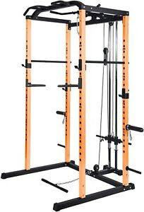 Power Rack Power Cage 1000-Pound Capacity Home Gym Equipment Exercise Stand