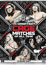 WWE - The Greatest Cage Matches Of All Time (DVD, 2011, 3-Disc Set) NEW & SEALED