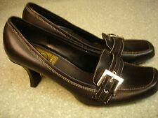 PREOWNED WMN'S VICTORIA SPENCER SHOES/PUMPS-SIZE 6.5M-BLACK