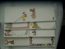 """Lot 8 Suzy's Zoo Vintage Note Pads 4.5"""" x 6.5"""""""