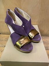Cole Haan Irving Nubuck Wedge Sandal size 7.5 B