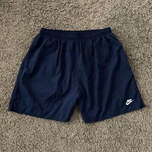 Vintage 90s Blue San Francisco Cotton Shorts Minimalist Design Size Large