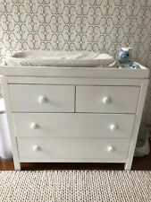 Custom White Baby Dresser/Changing Table