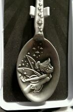 Disneyland Pewter Spoon with CASTLE & TINKER BELL Brand New!!!