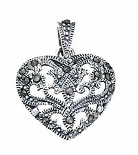 Unbranded Marcasite Fine Necklaces & Pendants