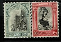Portugal SC# 448 & 449, Mint Hinged, Hinge Remnants, minor gum creasing - S6644