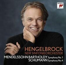 Mendelssohn Bartholdy: Filarmonica 1/Schumann: Filarmonica 4-CD