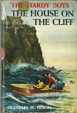 Hardy Boys The House on the Cliff Franklin Dixon Hardcover Dustjacket