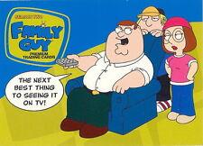 FAMILY GUY SEASON 2 2006 INKWORKS PROMO CARD P1