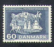 Denmark 1963 Post Courier/Mail Coach/Horses/Ship/Transport/History 1v (n37384)