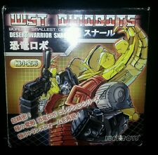 Transformers AUTHENTIC Justitoys WST Dinobot G1 Desert Warrior Snarl MISB