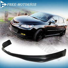 FOR 07-09 MAZDA 3 MAZDA3 5DR FRONT BUMPER LIP SPOILER BODY KIT MS STYLE URETHANE