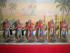 6 EGYPTIENS ANTIQUITE : LANCES / CASSE TETE / ARC CBG MIGNOT NEUF