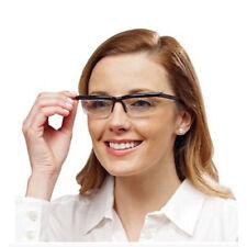 Focus Adjustable Eyeglasses -3 to +6 Diopters Myopia Glasses Reading Glasses