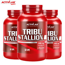 TRIBUSTALLION - Maximum Potency Libido Booster Testosterone Tribulus Supplement