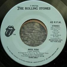 """The Rolling Stones Music 7"""" Single Records"""