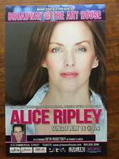 Alice Ripley   ad/flyer  p-town July 16,2017 the Art House Next to Normal