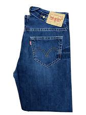Original Levi's 902 Classic Loose Fit Rare Find Blue Denim Jeans W34 L33 ES 7264