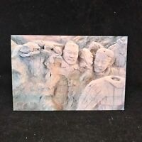 Vintage Post Card Pottery Figurines of 2000-old Years Were Being Unearthed China