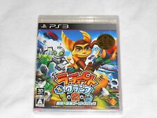 NEW Ratchet & Clank 1 2 3 - Ginga Saikyou Gorgeous Pack Playstation 3 JAPAN PS3