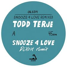 "TODD TERJE - Snooze 4 Love (12 "" Vinyl) Dixon + Luke Abbott Remixes OLS014 NEW"