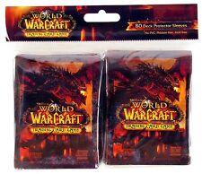World of Warcraft - Deathwing - Trading Card Sleeves (80) - UK Seller - FREE P+P